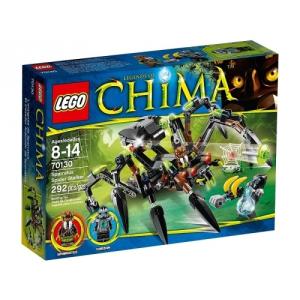 LEGO Chima 70130 Sparratus lesből vadászó pókja