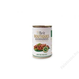 Brit Care Boutiqoes Gourmandes Konzerv True Meat Bits Lamb 12db 400g