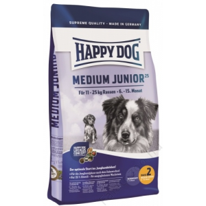 Happy Dog Supreme Medium Junior 25 4 kg
