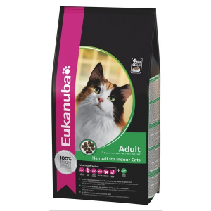 Eukanuba cat adult hairball 2kg