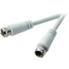 SpeaKa Professional SAT antenna kábel, F dugó/dugó, 3 m, fehér, SpeaKa Professional