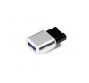 Verbatim Pendrive, 64GB, USB 3.0, VERBATIM Mini Metal, ezüst pendrive
