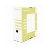 DONAU Archiváló doboz, A4, 120 mm, karton, DONAU, sárga