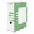 DONAU Archiváló doboz, A4, 120 mm, karton, DONAU, zöld
