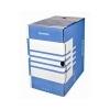 DONAU Archiváló doboz, A4, 200 mm, karton, DONAU, kék