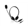 Ewent Headset with mic for smartphone and tablet