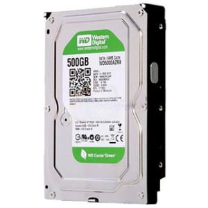 Western Digital 500GB 5400RPM 64MB SATA3 WD5000AZRX