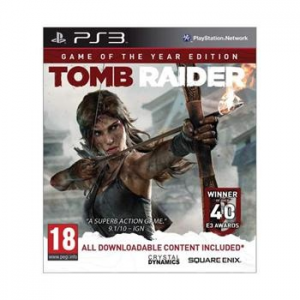 Square Enix Tomb Raider (Game of the Year Edition) - PS3