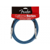 Fender California Instrument Cable - Lake Placid Blue 18'