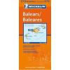 Baleári-szigetek térkép - Michelin 579