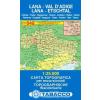 Lana, Val d'Adige / Lana, Etschtal térkép - 046 Tabacco