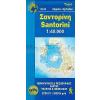 Szantorini térkép - Anavasi