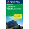 Dolomiten-Abteital-Gadertal - Kompass WF 5728