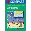 WK 731 - Langeoog turistatérkép - KOMPASS