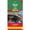 Párizs várostérkép - f&b PL 69