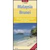Malájzia és Brunei térkép - Nelles