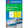 WK 030 - Zell am See - Kaprun turistatérkép - KOMPASS