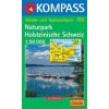 WK 740 - Naturpark Holsteinische Schweiz turistatérkép - KOMPASS