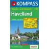WK 745 - Havelland turistatérkép - KOMPASS