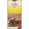 India (nyugati rész) térkép - Nelles