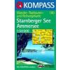 WK 180 - Starnberger - Ammersee turistatérkép - KOMPASS