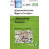 Lattengebirge, Reiteralm turistatérkép - Alpenvereinstkarte BY20