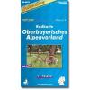 Oberbayrisches Alpenvorland kerékpártérkép - (RK-BAY16)