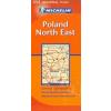 Lengyelország (északkeleti rész) térkép - Michelin 555