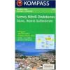 WK 253 - Szamosz - Északi-Dodekaneszosz turistatérkép - KOMPASS