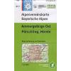 Ammergebirge Ost; Pürschling, Hörnle turistatérkép - Alpenvereinskarte BY07