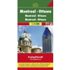 Montreal - Ottawa várostérkép - f&b PL 522