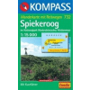 WK 732 - Spiekerog turistatérkép - KOMPASS