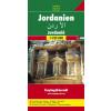 Jordánia autótérkép - f&b AK 157