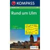 WK 789 - Rund um Ulm turistatérkép - KOMPASS