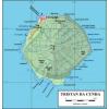 Tristan Da Cunha térkép - OCI