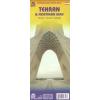 Teherán és Észak-Irán térkép - ITM