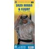 Szaúd-Arábia és Kuvait térkép - ITM