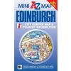 Edinburgh mini térkép - A-Z