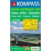 WK 838 - Hohe Eifel - Osteifel turistatérkép - KOMPASS