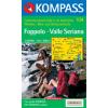 WK 104 - Foppolo - Valle Seriana turistatérkép - KOMPASS