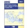 South Coast of Turkey, Syria, Lebanon & Cyprus Chart M21 - Imray