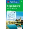 WK 176 - Regensburg és környéke turistatérkép - KOMPASS