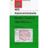 Niedere Tauern II turistatérkép - Alpenvereinskarte 45/2