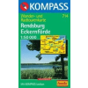 WK 714 - Rendsburg - Eckernförde turistatérkép - KOMPASS