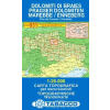 Dolomiti di Braies / Pragser Dolomiten, Marebbe / Enneberg térkép - 031 Tabacco