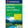 WK 052 - Ultental / Val d'Ultimo turistatérkép - KOMPASS
