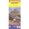 Lesotho térkép - ITM