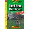 BRNO SURROUNDINGS, MORAVSKY KRAS - SHOCart kerékpártérkép 144