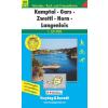 Kamptal-Gars-Zwettl-Horn-Langenlois turistatérkép - f&b WK 072
