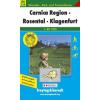 Carnica Region-Rosental-Klagenfurt turistatérkép - f&b WK 234
